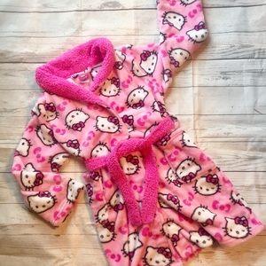 Hello Kitty Girls Bathrobe